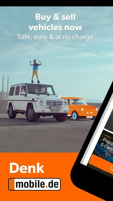 Screenshot mobile.de – Germany's largest car market APK