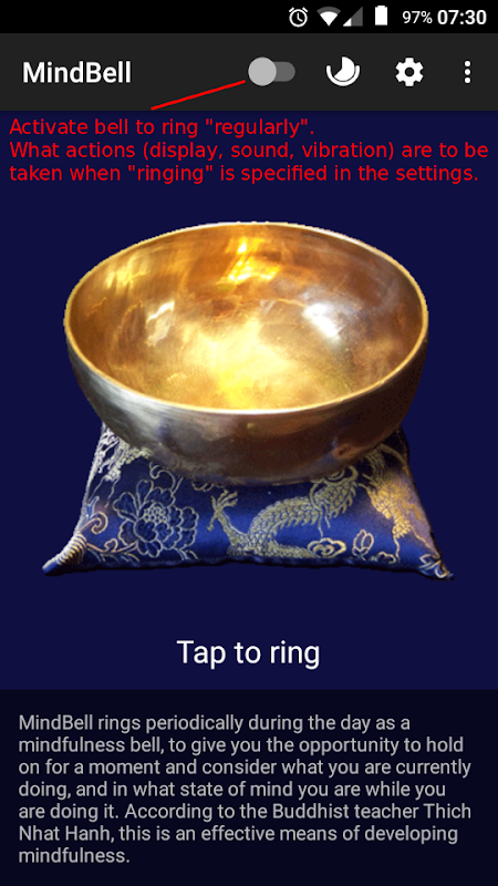 MindBell (Mindfulness Bell & Meditation Timer) The App Store android Code Lads