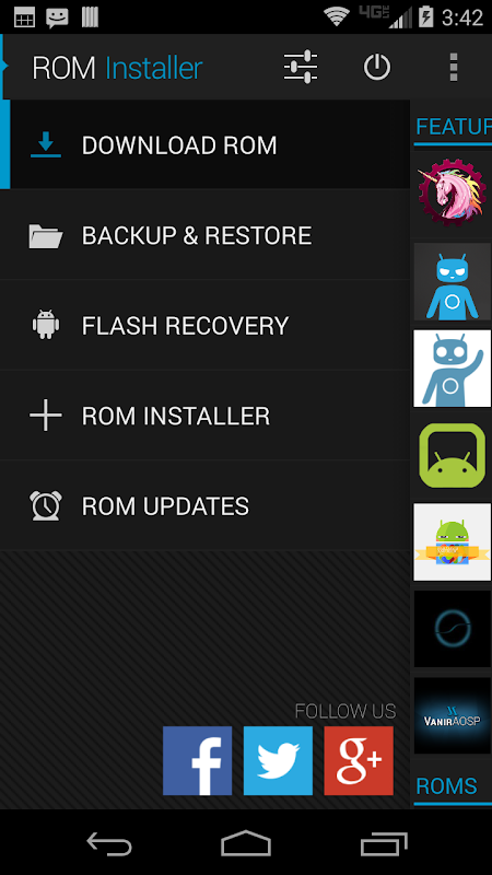 ROM Installer The App Store android Code Lads