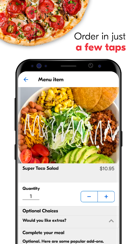Screenshot Grubhub: Local Food Delivery APK