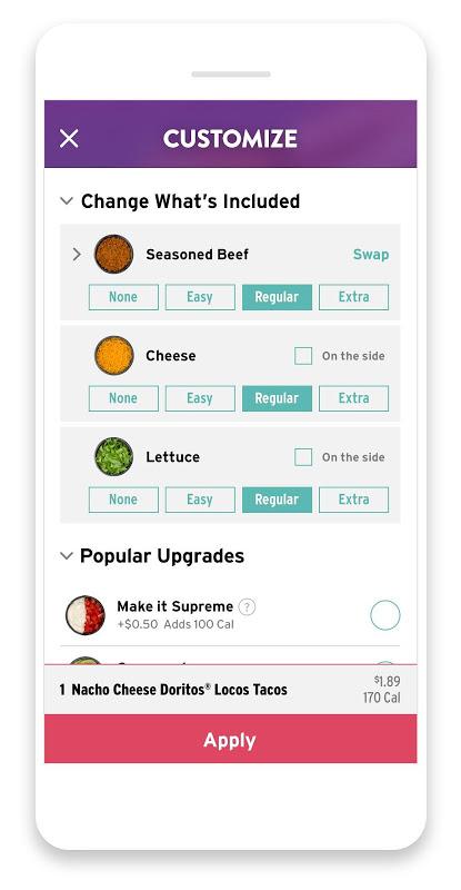 Screenshot Taco Bell APK