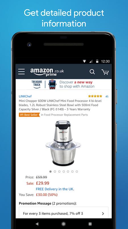 Screenshot Amazon Shopping APK
