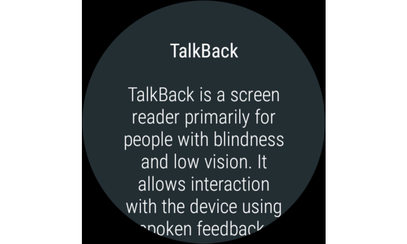 Google TalkBack The App Store