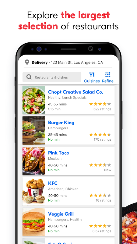 Grubhub: Local Food Delivery & Restaurant Takeout The App Store