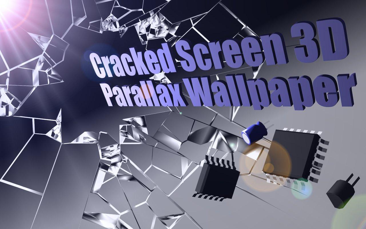 Cracked Screen Gyro 3D Parallax Wallpaper HD The App Store