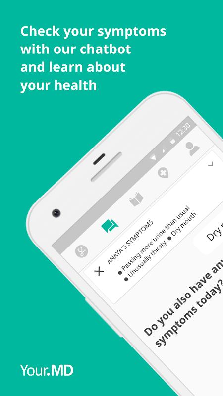 Screenshot Your.MD: Symptom Checker & Health Tracker APK