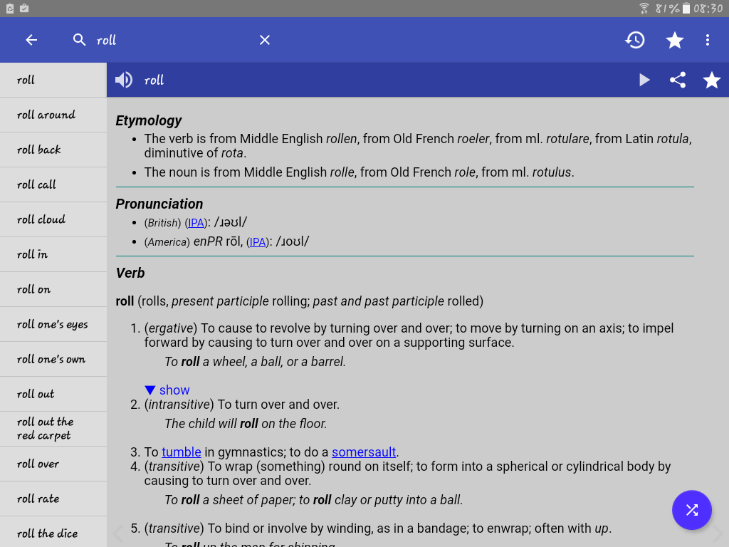 Screenshot English Dictionary - Offline APK