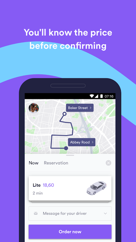 Screenshot Cabify - Enjoy the ride APK