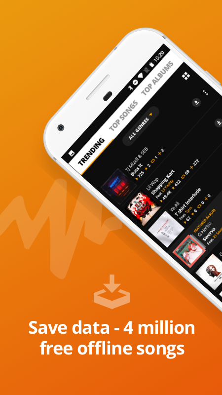 Audiomack   Download New Music The App Store android Code Lads