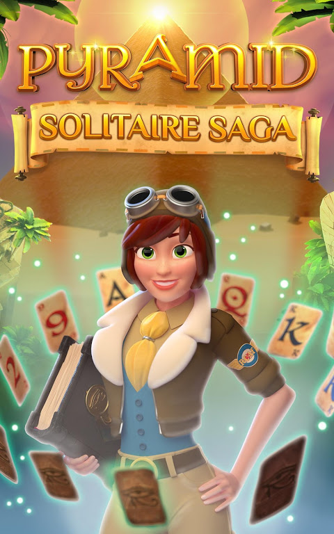 Screenshot Pyramid Solitaire Saga APK