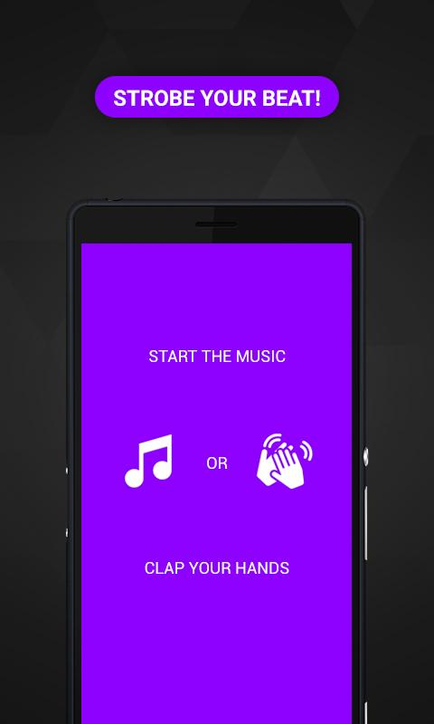 Screenshot Music Strobe: hue flashing lights for house party APK
