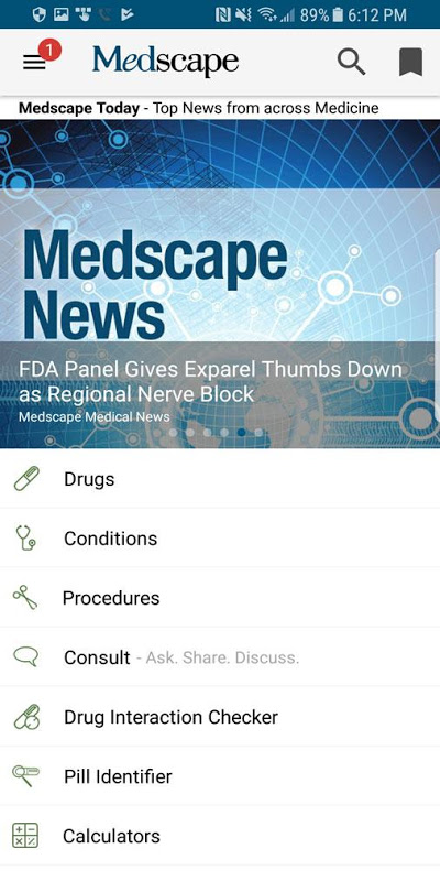 Screenshot Medscape APK