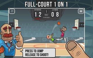 Basketball Battle Screen