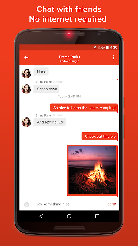 FireChat The App Store