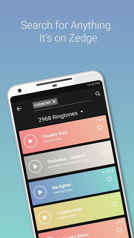 ZEDGE™ Ringtones & Wallpapers The App Store android Code Lads