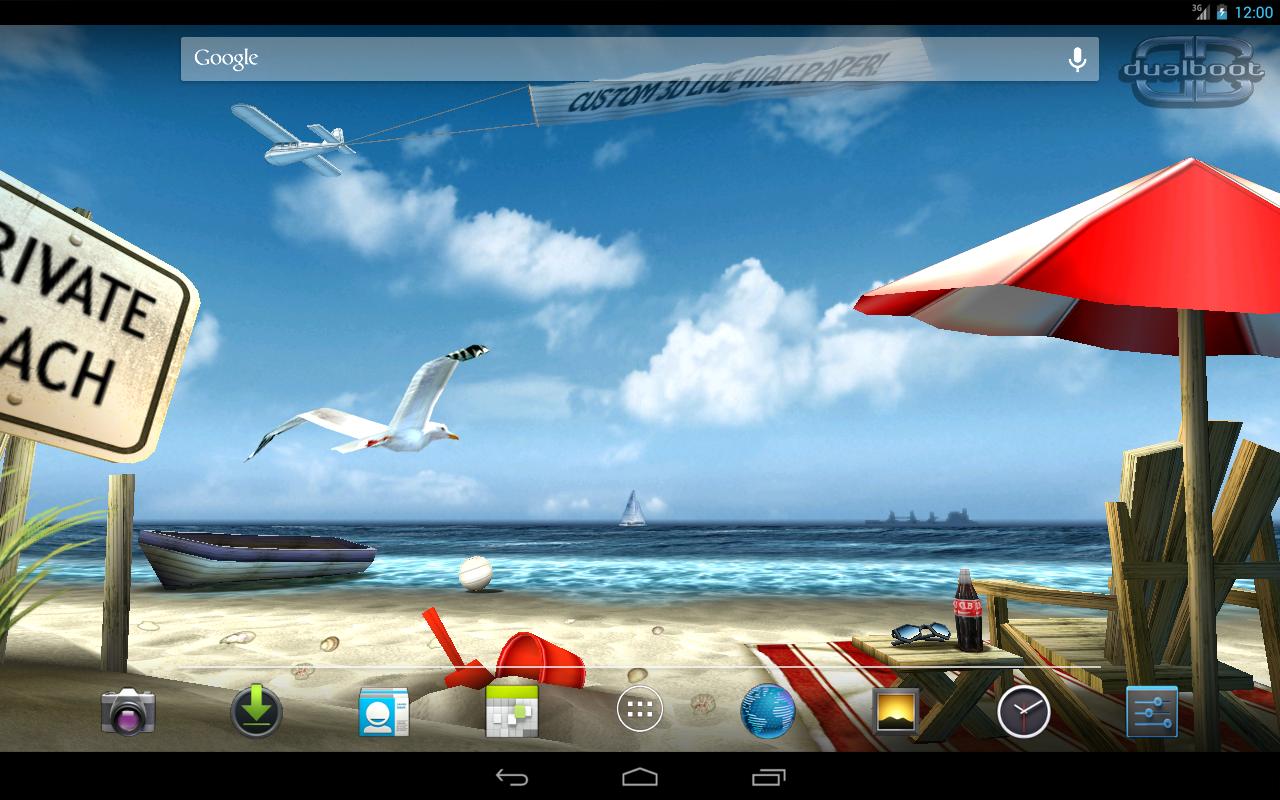 My Beach HD Free The App Store android Code Lads