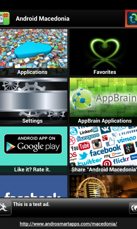 Screenshot Android Macedonia APK
