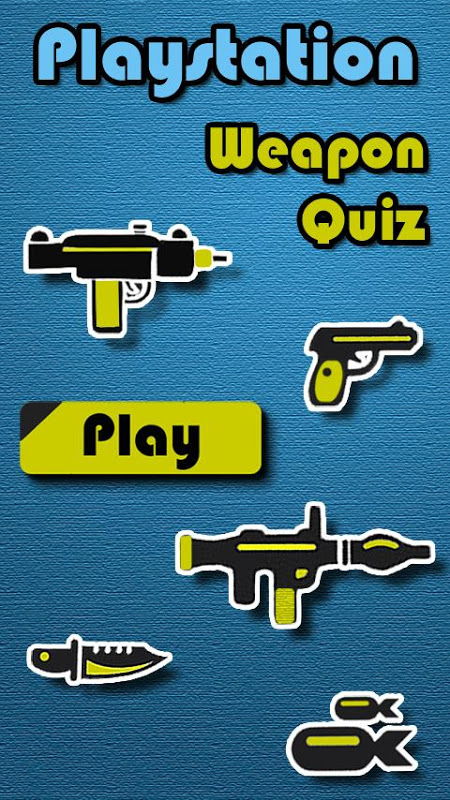 Screenshot Weapons of Playstation Quiz APK