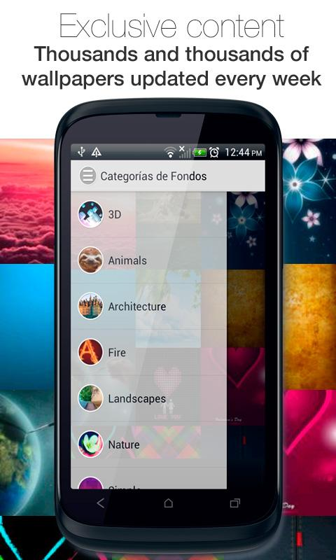 Screenshot Wallpapers for Android APK