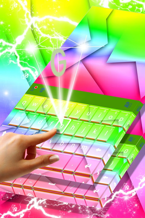 Screenshot Colorful Keyboard for Android APK