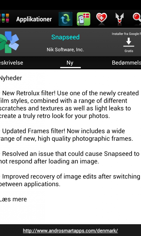 Screenshot Denmark Android APK
