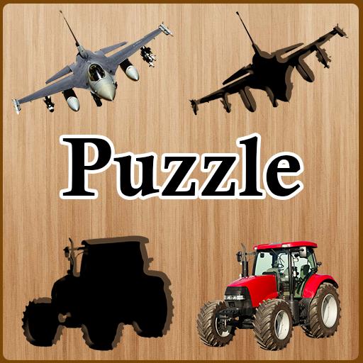 Kids Puzzle Vehicles
