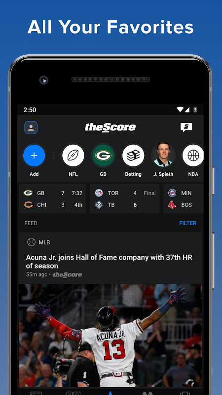 theScore: Sports & Scores The App Store