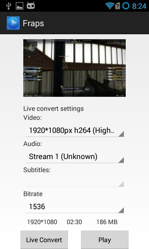 Screenshot Android AV APK