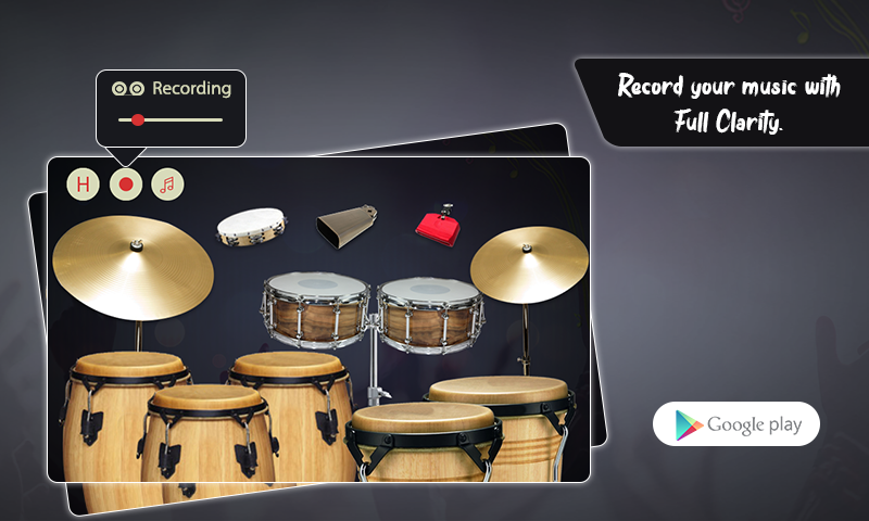 Real Percussion, Congas & Drums The App Store android Code Lads