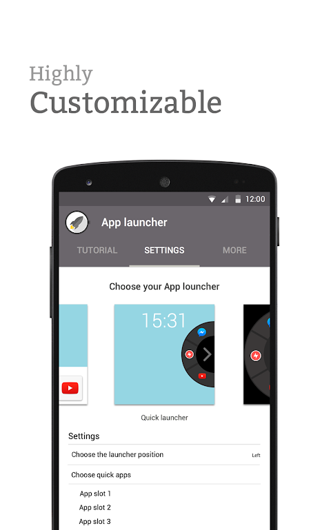 Screenshot App launcher for Android Wear APK