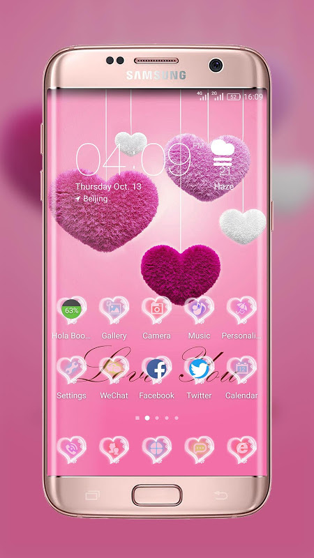 Love You! Best Launcher Theme The App Store