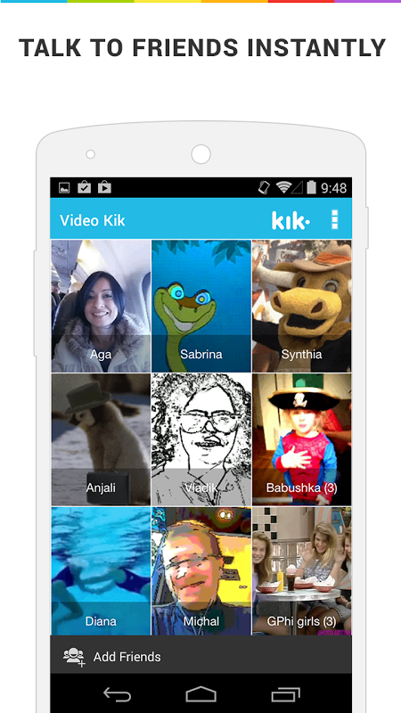 Push-to-Talk Video Chat The App Store android Code Lads