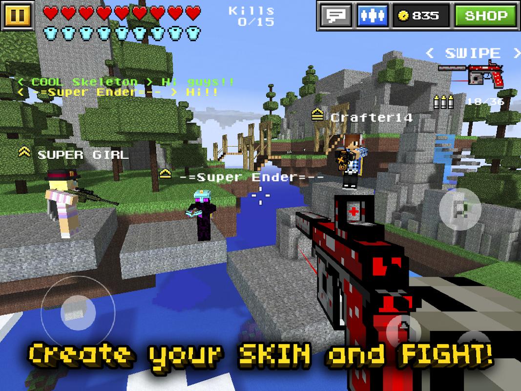 Pixel Gun 3D (Minecraft style) The App Store