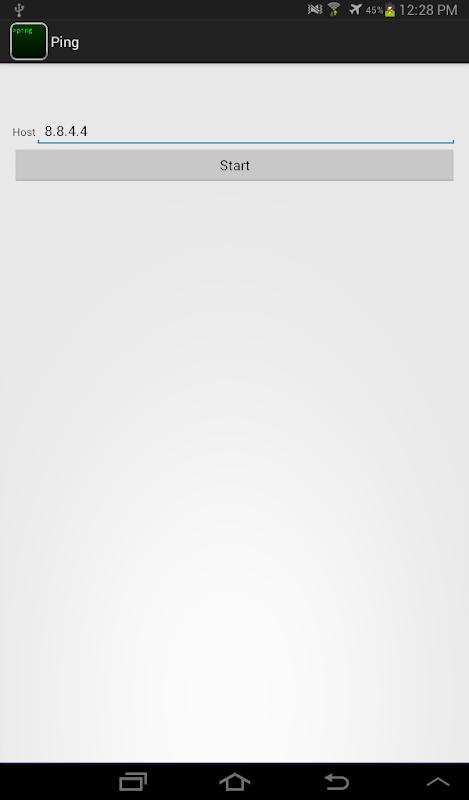 Screenshot Ping APK