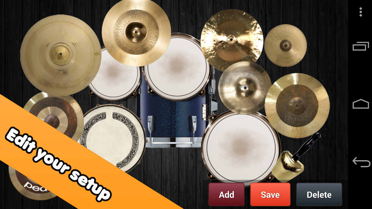 Drum kit The App Store android Code Lads