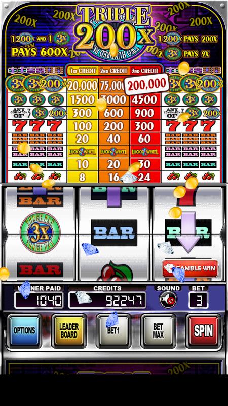 Screenshot Triple 200x Pay Slot Machines APK