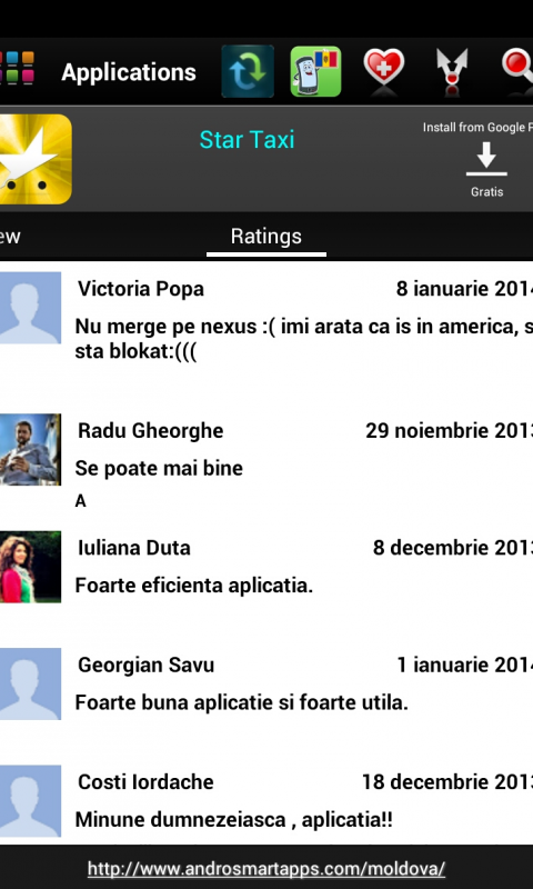 Screenshot Moldova Android APK