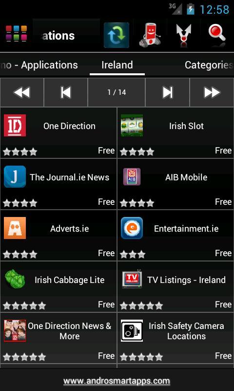 Screenshot Ireland Android APK