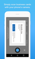 Eight - Manage Business Cards Screen