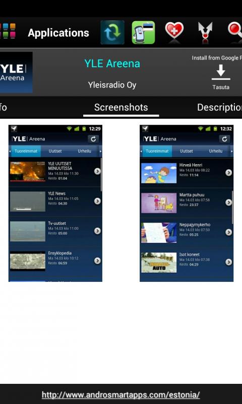 Screenshot Estonia Android APK