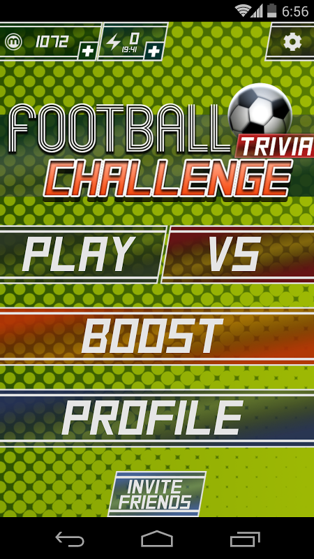 Football Challenge Trivia The App Store android Code Lads