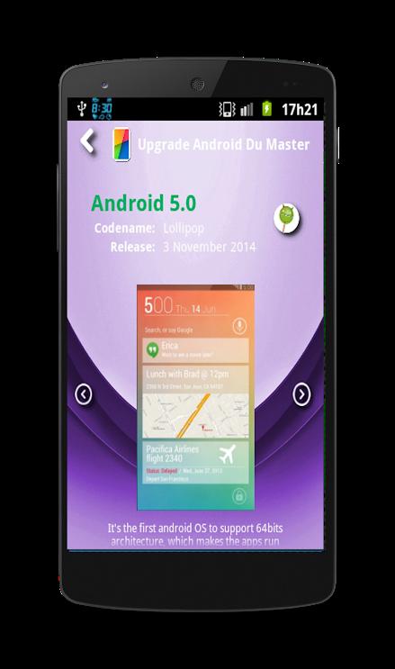 Screenshot Upgrade your Android APK