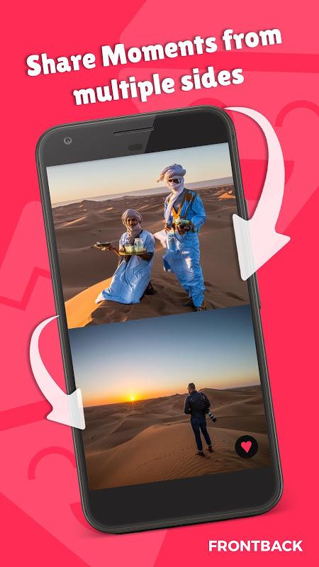 Frontback - Social Photos The App Store