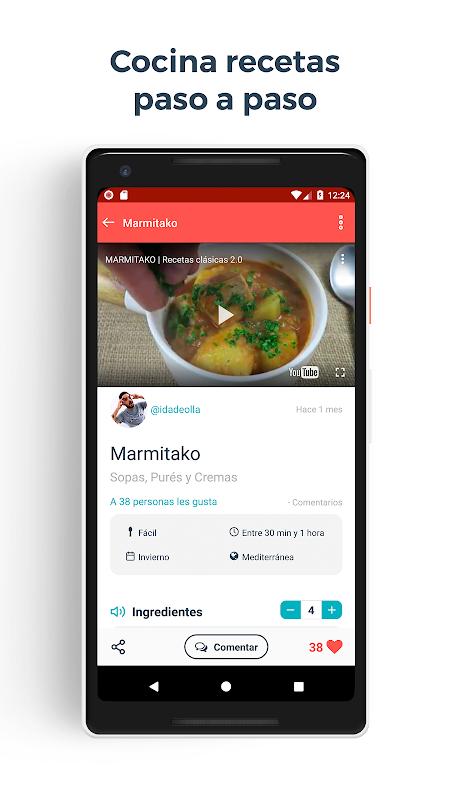 Hatcook - Recetas de cocina The App Store android Code Lads