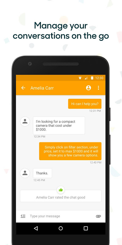 Screenshot Zendesk Chat APK