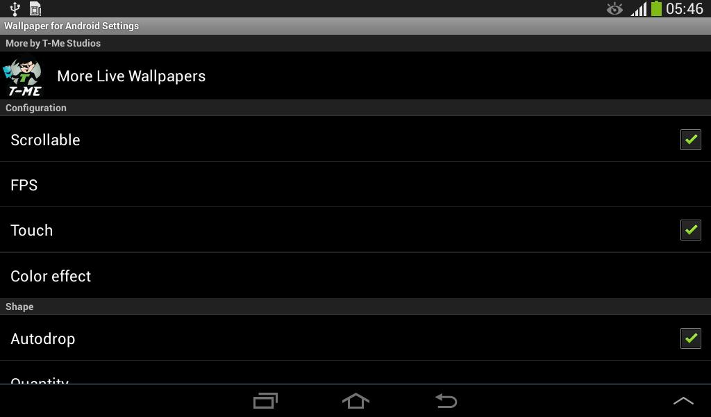 Screenshot Wallpaper for Android APK
