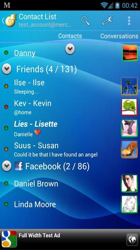 Mercury Messenger (Free) The App Store