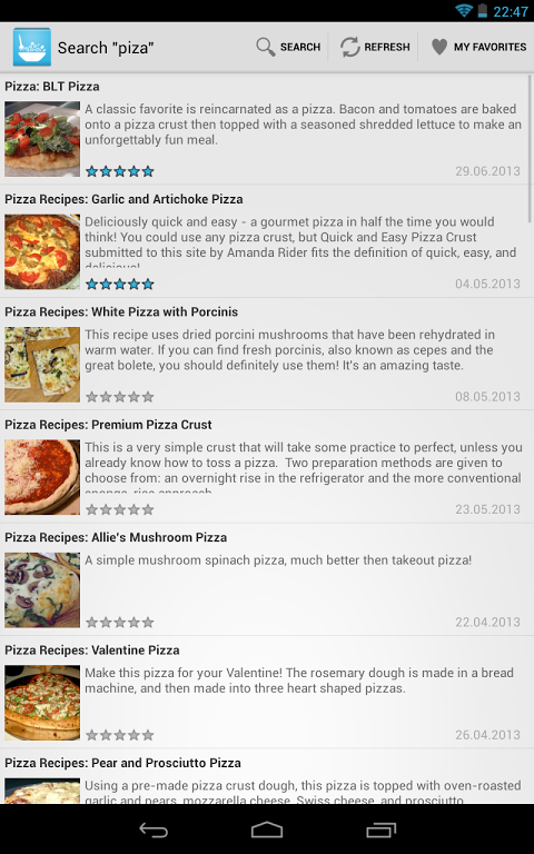 Recipes The App Store android Code Lads
