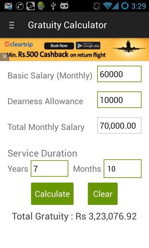 Gratuity Calculator Download | The App Store