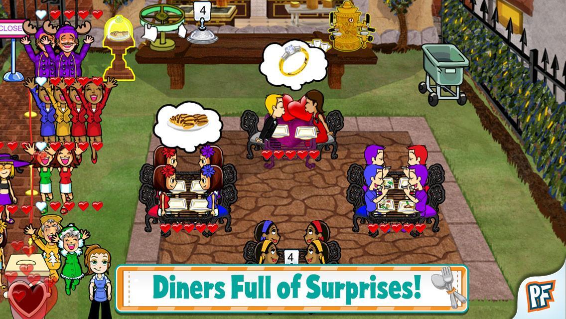Screenshot Diner Dash APK
